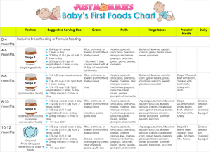 food chart for 6 month old indian baby. baby\u0027s first foods chart food for 6 month old indian baby b