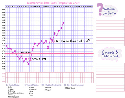 What is a Triphasic Chart? | www.justmommies.com